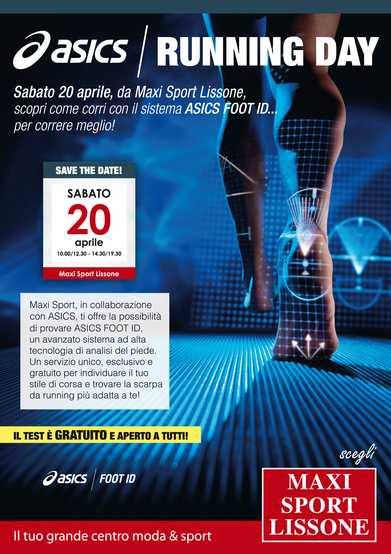 maxi sport scarpe running asics