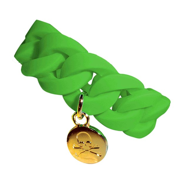braccialetto green teschio
