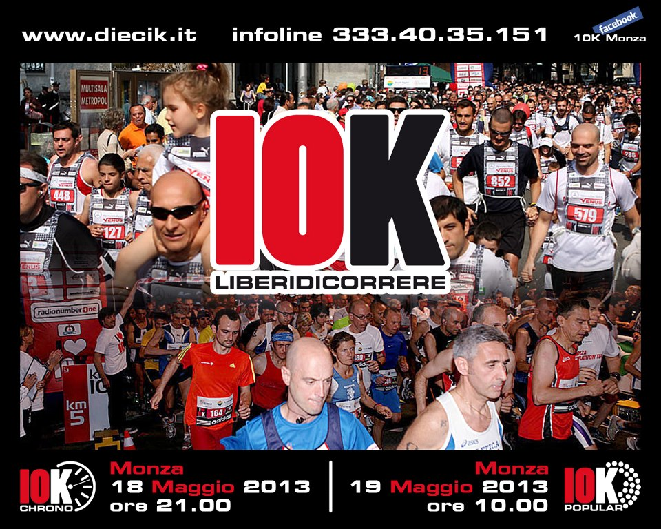 Locandina 10k di Monza
