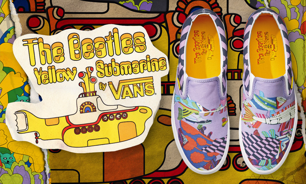 Vans Beatles Capsule Collection