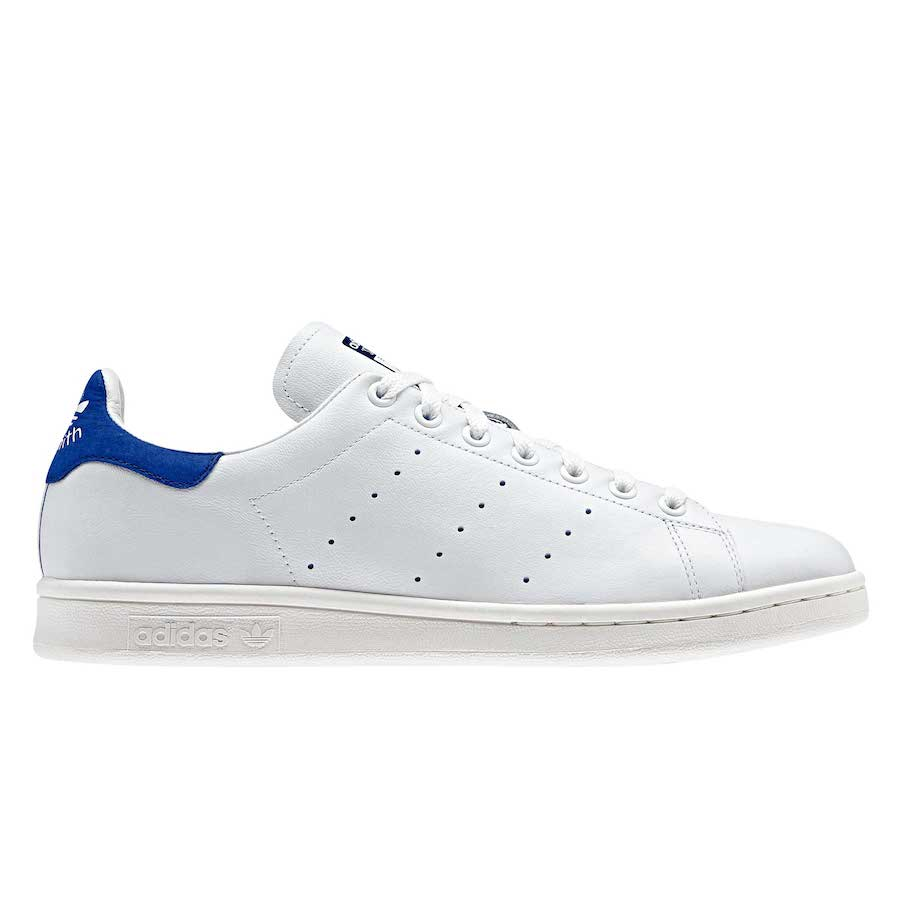 adidas stan smith bianche e bordeaux