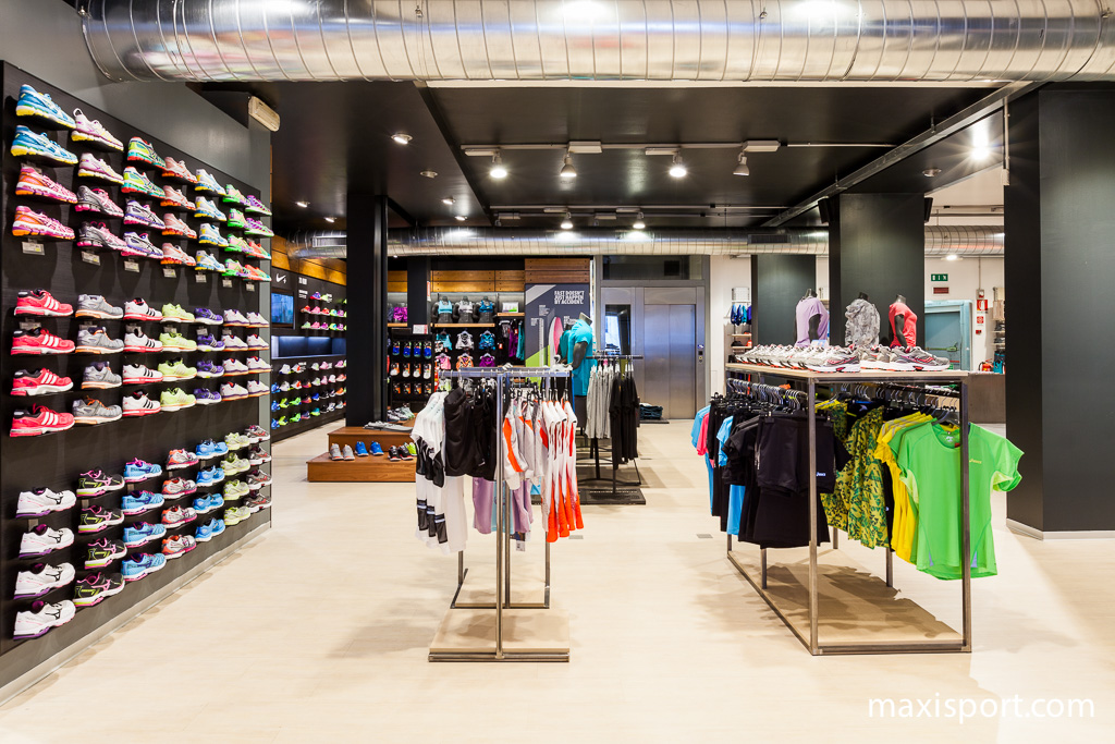 Il nuovo reparto running di Maxi Sport Lissone
