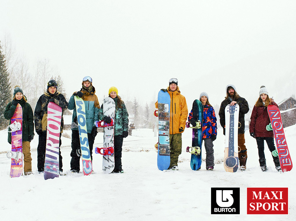Burton Snowboard collection 2014 Maxi Sport