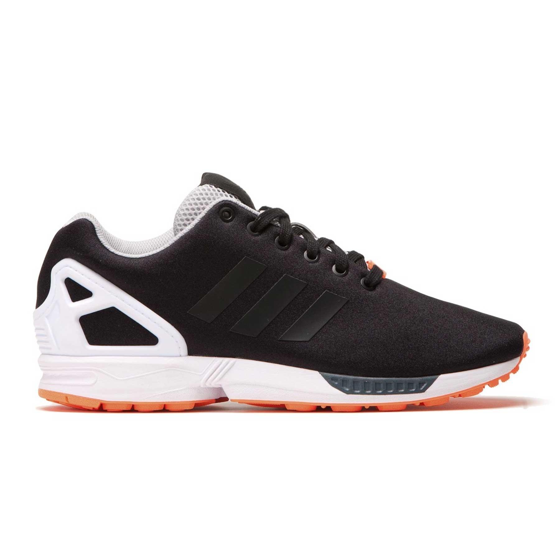 adidas zx flux nere e arancio