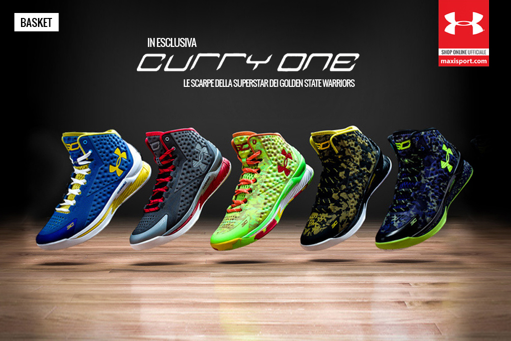 scarpe under armour basket curry