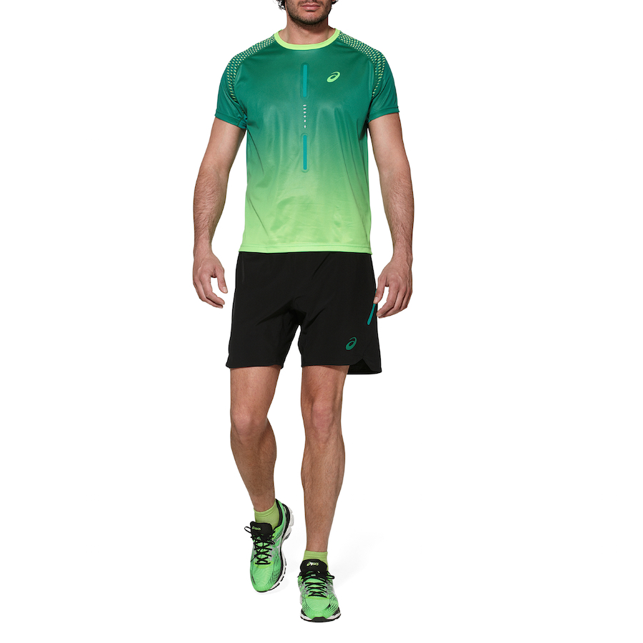 abbigliamento running asics uomo