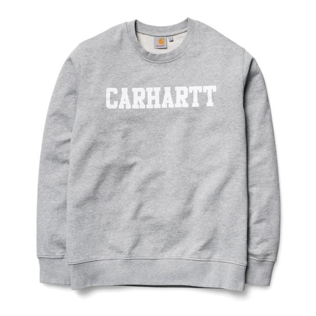 Carhartt felpa girocollo logo