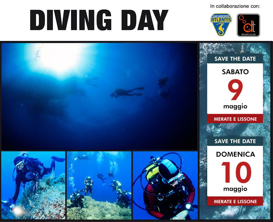 Diving Day 9 e 10 maggio