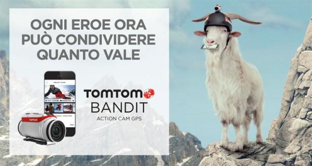 La nuova videocamera TomTom Bandit, in arrivo da Maxi Sport