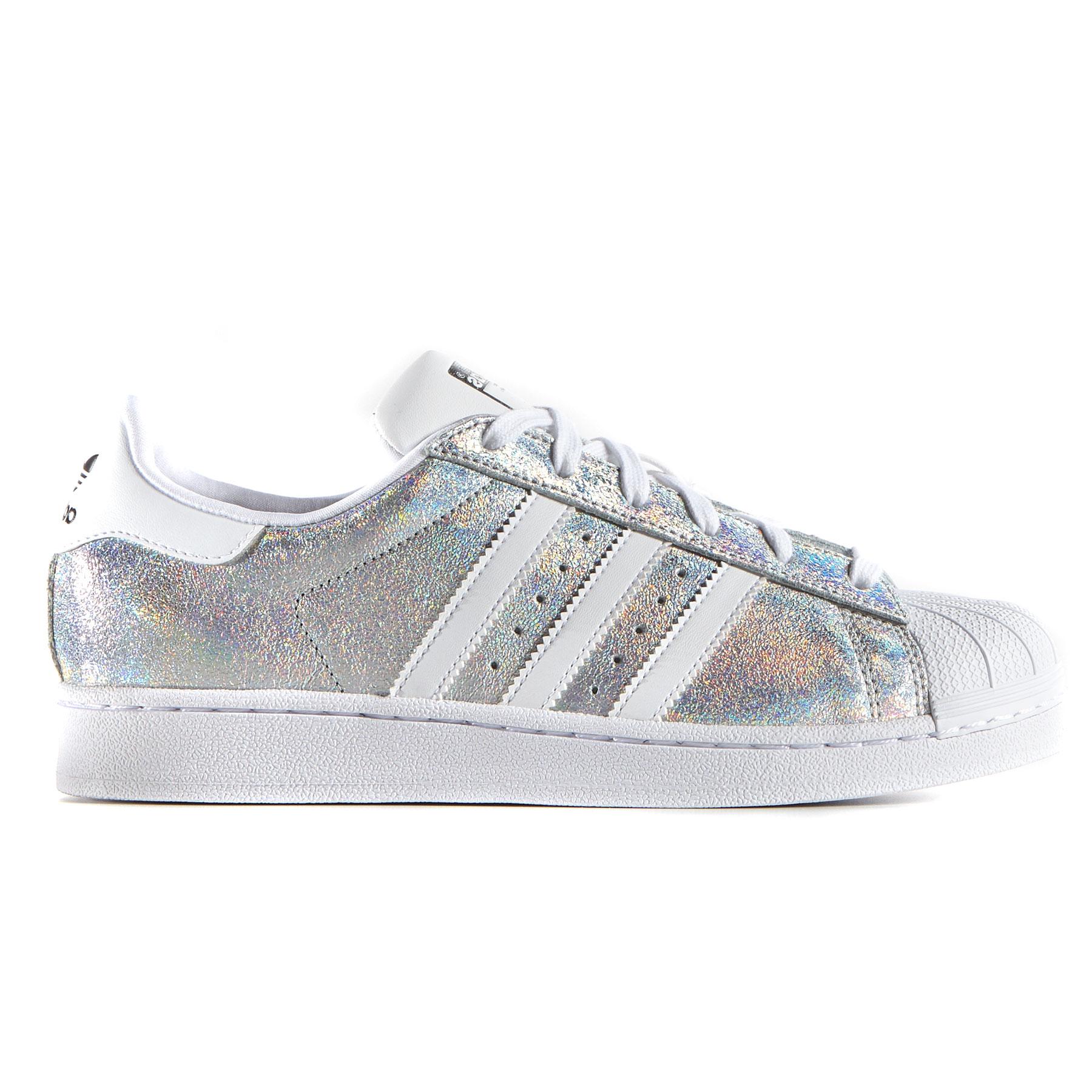 scarpe adidas donna superstar nere con le strisce bianche