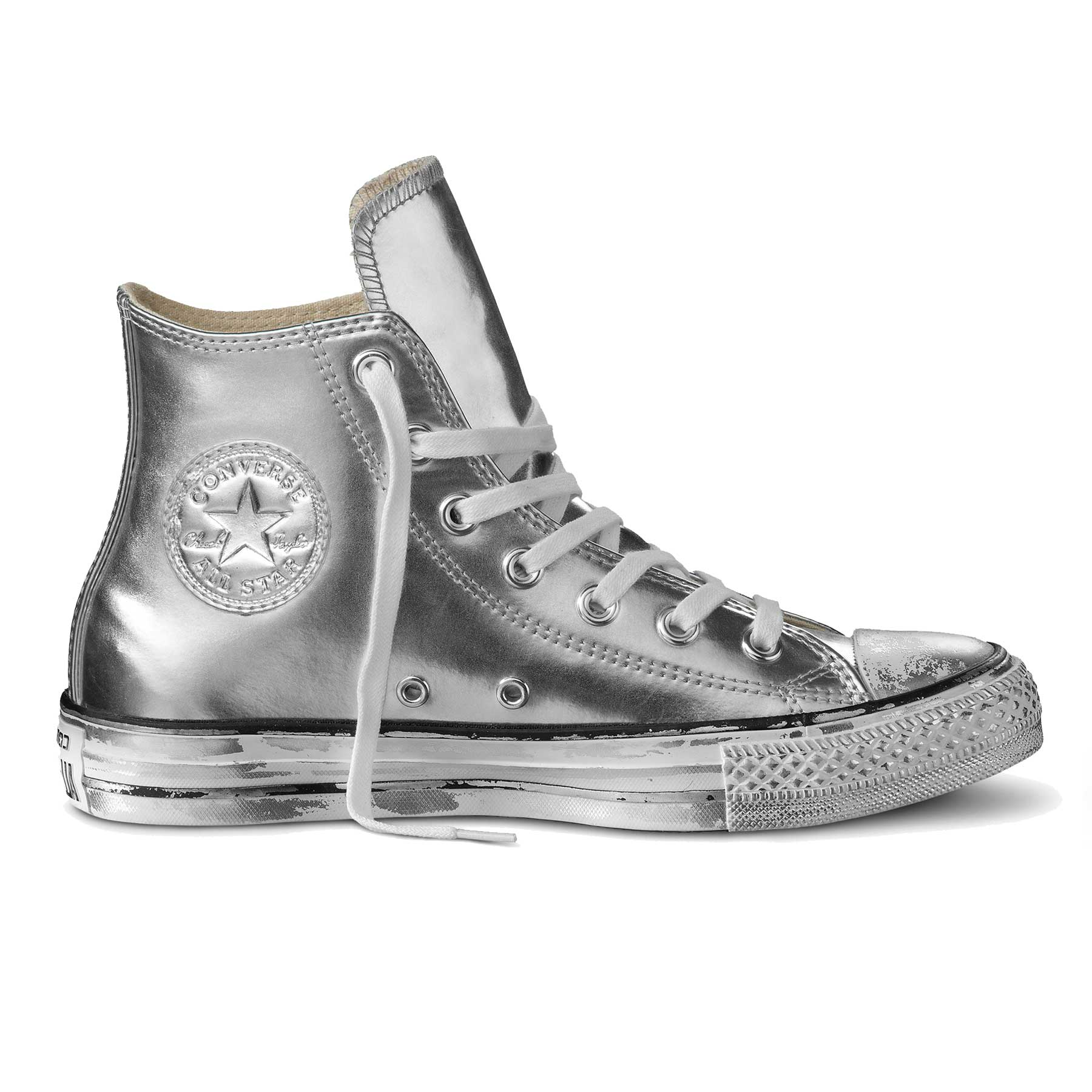 all star converse argento