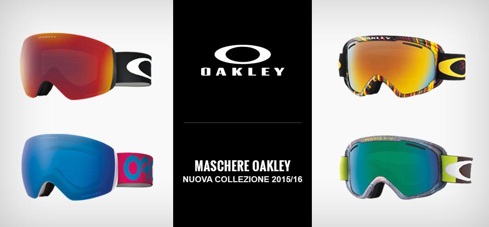 oakley maschera tecnologica