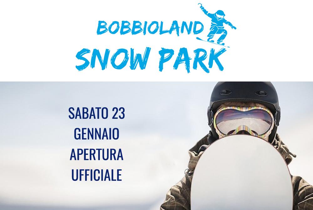 Apre bobbioland snowpark 1500 mq di divertimento ai piani for Piani di casa di 1500 mq