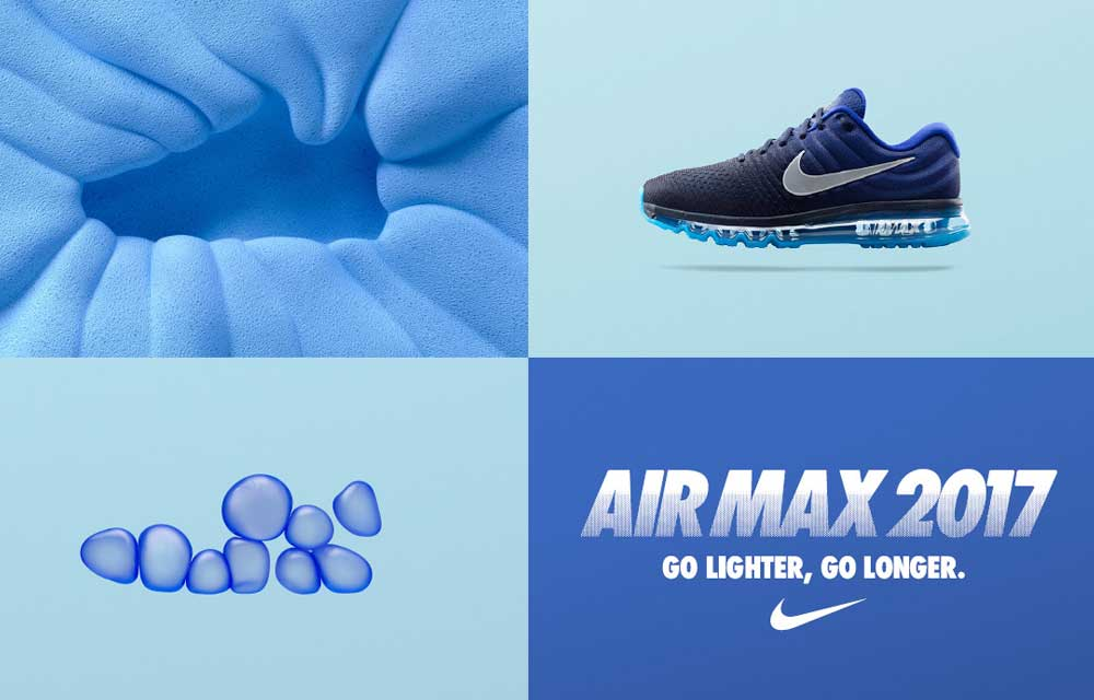 Arrivano le nuove sneaker Nike Air Max 2017: Evoluzione a