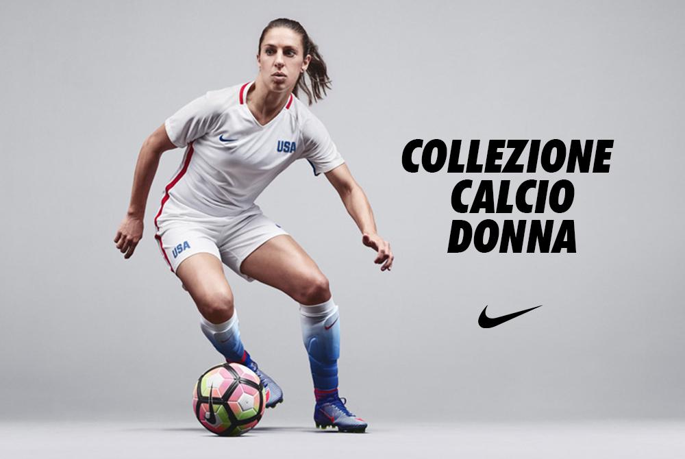 Calcio al femminile: ecco la collezione Nike Football Donna ...