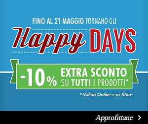 Happy Days Extra Sconto 10%