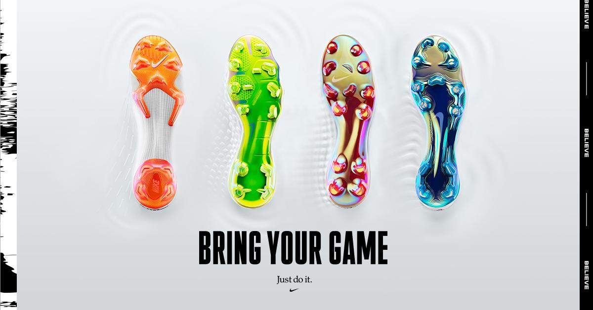 Arriva il Just do it Pack, la nuova collezione di scarpe calcio Nike  Football che vedremo in campo ai piedi di Neymar, Ronaldo e tutti gli altri  calciatori ...