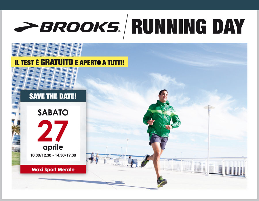 Brooks Running Day Maxi Sport Merate