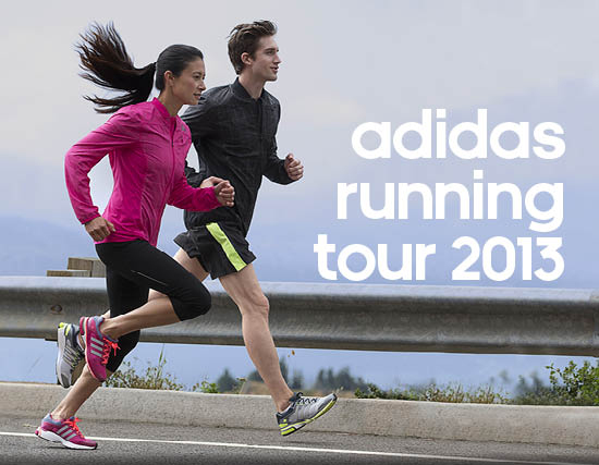 locandina running day adidas