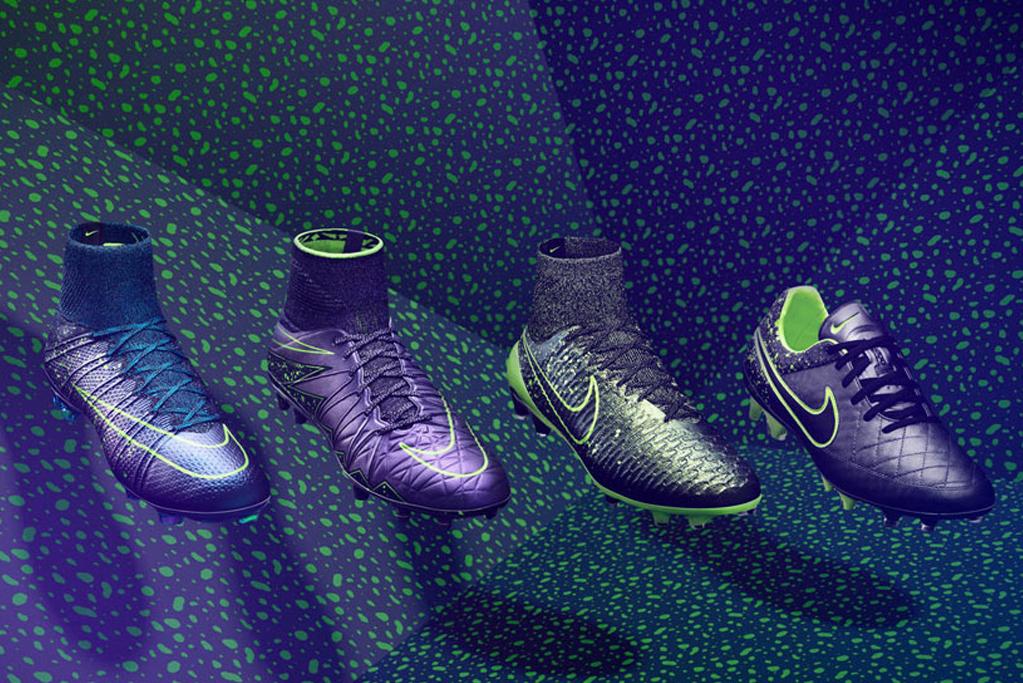 huge selection of 63ab0 ede19 Illumina il gioco con la nuova linea di scarpe da calcio Nike Electro Flare  Pack