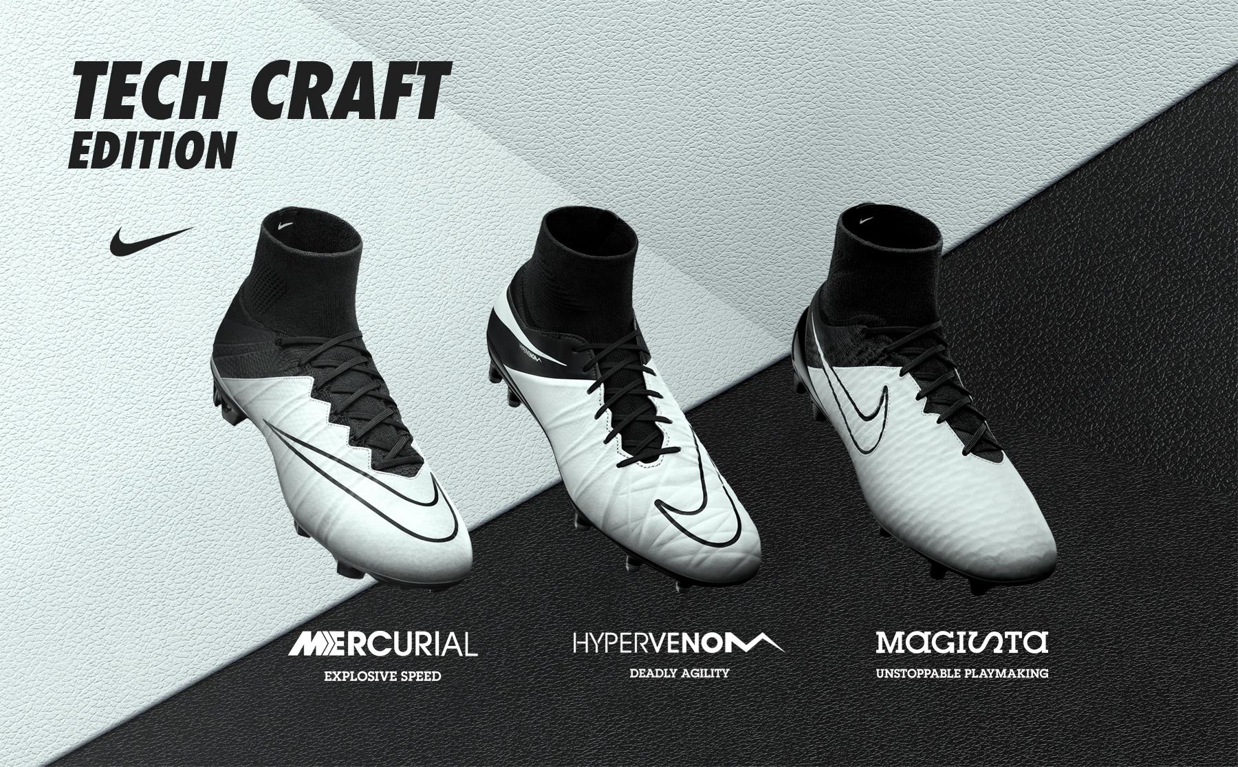 Ritorna il Nike Tech Craft Pack  le scarpe da calcio che uniscono  innovazione e tradizione d52cc5664e1