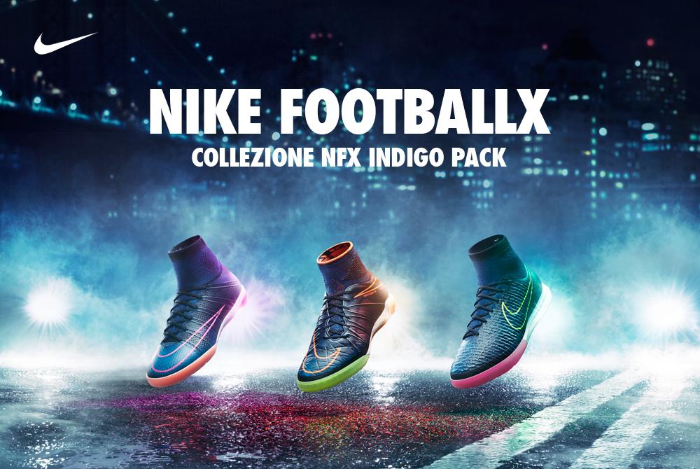 """Scarpe calcetto Nike FootballX  presentato il nuovo """"Distressed Indigo"""" pack . 1925e36cb00"""