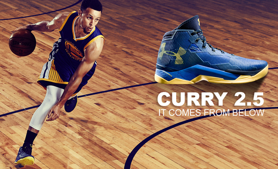 1e11025b956ed8 Under Armour Curry 2.5: le nuove scarpe da basket di Stephen Curry