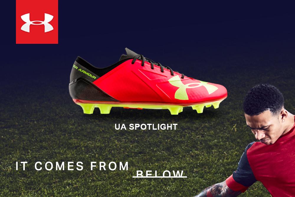 E  arrivata la nuova collezione di scarpe da calcio Under Armour.  Disponibili sul nostro shop on-line e nei nostri punti vendita di Lissone e  Sesto San ... 4ff04149af3