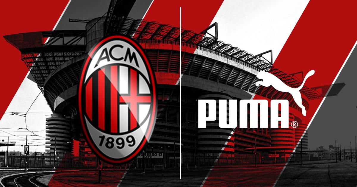 ab9649828a8907 Le maglie del Milan 2018 / 2019 saranno Puma. Il Brand tedesco e il club  Rossonero hanno ufficializzato l'accordo che vede Puma nuovo sponsor  tecnico dell' ...
