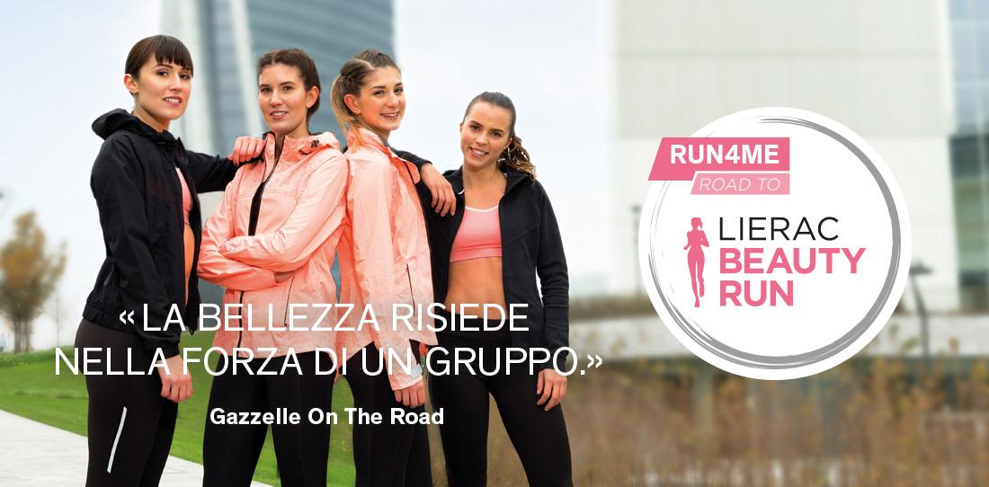 RUN4ME LIERAC è il programma di training al femminile in collaborazione con  RCS Sport per accompagnare le runner moderne all appuntamento con la Lierac  ... 375a39706e8