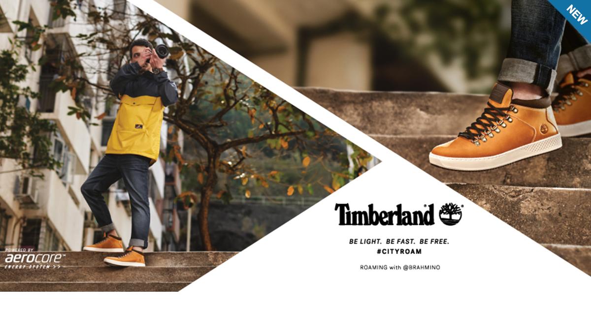 Timberland #CityRoam™: outdoor e urban style con tecnologia