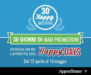 30 Giorni di Maxi Promozioni
